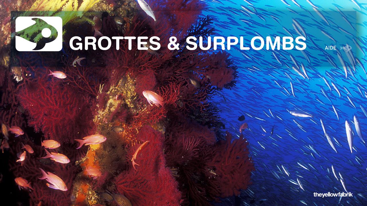 Grottes et Surplombs
